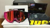 箱破損の為特価!眼鏡可能! 100% ACCURI ミラー ゴーグル OTG SWANS