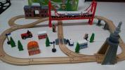 イマジナリウム 木製レール N700系新幹線トレインセット