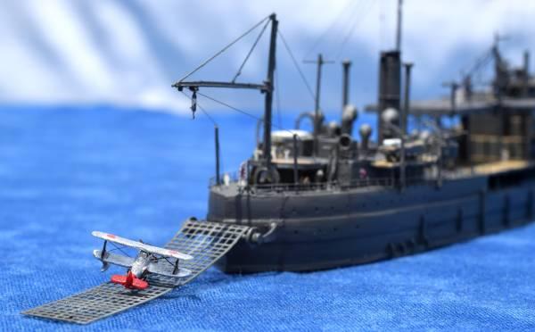 雅工房製1/700日本海軍水上機母艦「神威」(昭和8~13年頃)
