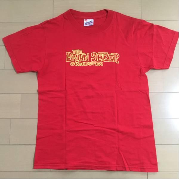 【美品】ブライアンセッツァーオーケストラ THE BRIAN SETZER ORCHESTRA オフィシャルTシャツ Sサイズ STRAY CATS