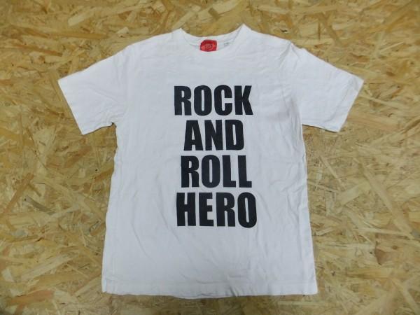 桑田佳祐 ドームツアー2002 けいすけさん、色々と大変ねぇ。 R&R ライブTシャツ 白 S サザンオールスターズ