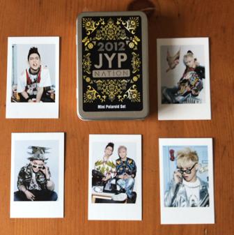 2012 JYPN ミニポライドセット JJ Project GOT7 ライブグッズの画像