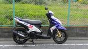 ヤマハ Mio125GP Bロッシ モデル