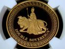 最高鑑定品 2012 英領TDC ウナ&ライオン 2ソブリン金貨 PF70ウルトラカメオ 発行枚数999枚