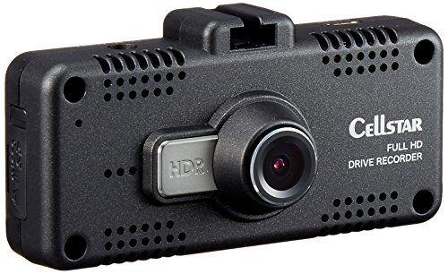 セルスタードライブレコーダー CSD-600FHR 日本製 駐車監視 レーダー相互通信対応 microSDメンテナンス不要 ブラック 黒 コンパクト