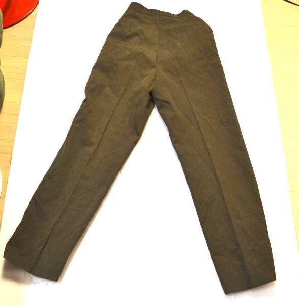 実物 米軍放出品 USMC 米海兵隊 制服 サービスドレス パンツ ウェスト66cm 総丈102cm_画像3
