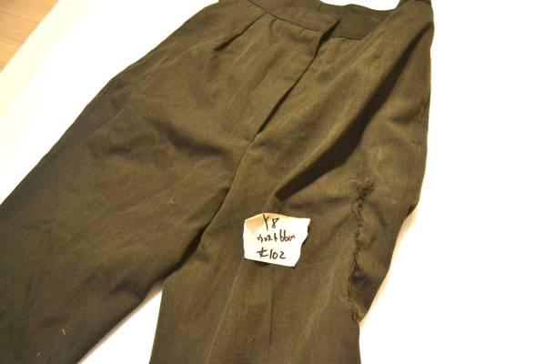 実物 米軍放出品 USMC 米海兵隊 制服 サービスドレス パンツ ウェスト66cm 総丈102cm_画像2