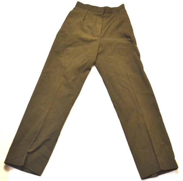 実物 米軍放出品 USMC 米海兵隊 制服 サービスドレス パンツ ウェスト66cm 総丈102cm_画像1