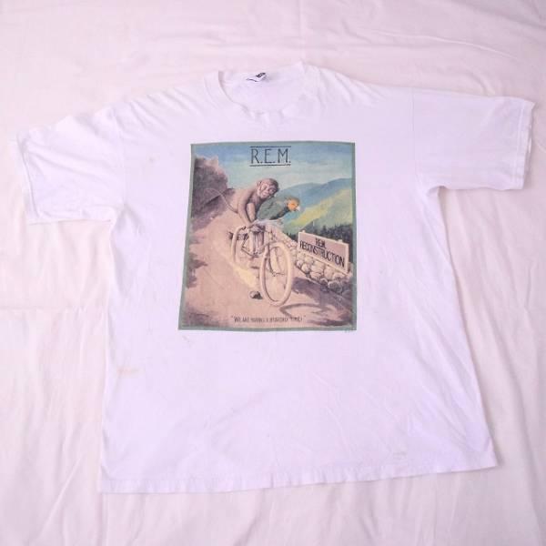 ヴィンテージ 90s USA製 REM Tシャツ 検 NIRVANA カートコバーン HIP HOP ジャスティン Dinosaur JR SONIC YOUTH PIXIES FLAMING LIPS 2pac