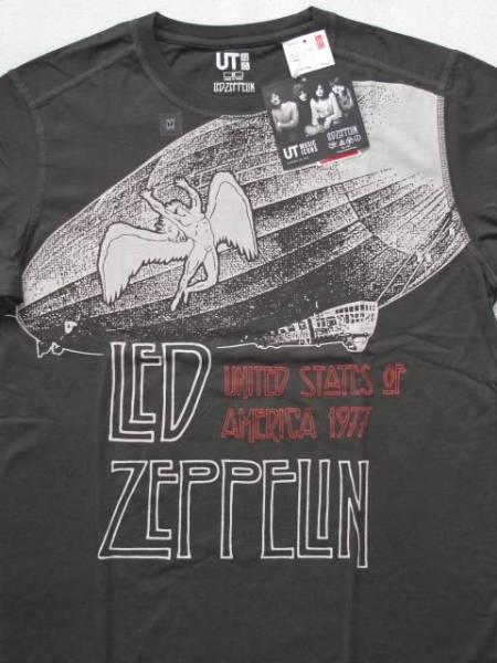 【新品】レッド・ツェッペリン LED ZEPPELIN ユニクロ Music Icons Tシャツ ロックTシャツ バンドTシャツ