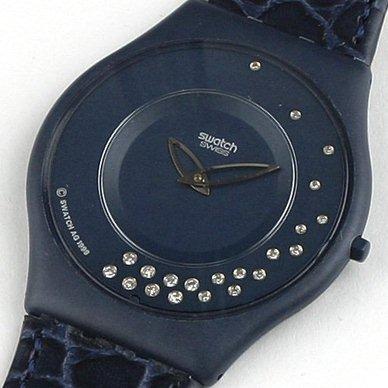 スウォッチ・スキン・SWATCH SKIN SPECIAL・SFZ101パック・LA NUIT ETOILEE・世界9,999セット限定販売・21粒本物ダイヤモンド・貴重品!!!_画像2