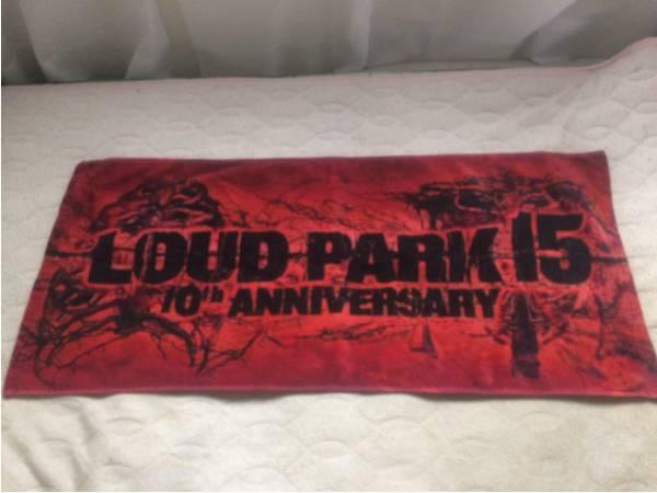LOUD PARK 15 タオル