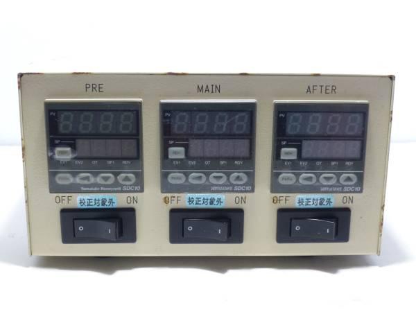 YAMATAKE デジタル指示調節計 SDC10 3台_画像1