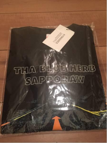1店舗限定 THA BLUE HERB x KIYONAGA&CO Tシャツ Lサイズ ブルーハーブ SAPPORAW MAIN LINE TOTAL