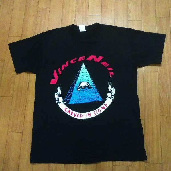 超希少 VINCE NEIL ヴィンスニール 1996 tour Tシャツ carved in stone モトリークルー MOTLEY CREW ヴィンテージ 古着 バンT