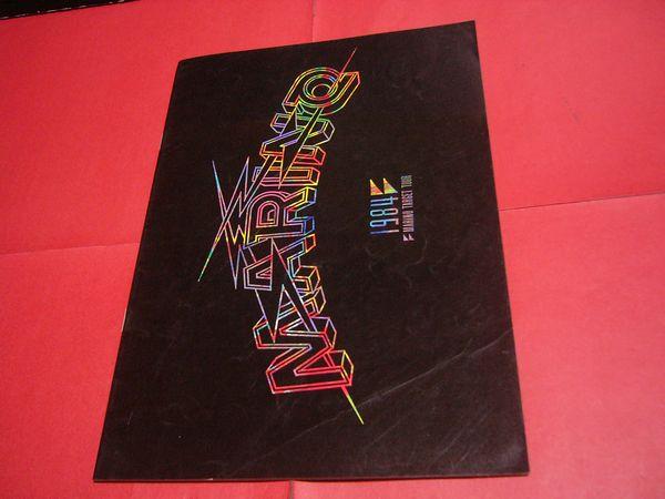 【稀少】MARINO パンフ 1984年 メジャーデビュー TARGET TOUR 大谷レイブン ジャパメタ マリノ