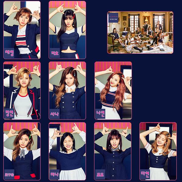 Twice★Signal ステッカー・カード♪10枚アソート