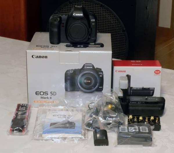 EOS 5D Mark II + BG-E6 美品