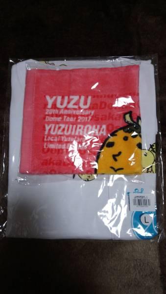 こぼれゆず太郎TシャツLサイズ&ハンドタオル(大阪)