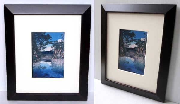『十和田湖』川瀬 巴水/版画複製印刷(ポストカード)_画像2
