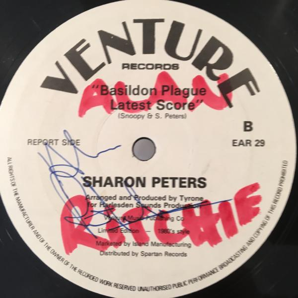 ★Sharon Peters/Bad News★マイナーLOVERS ROCK!_画像2