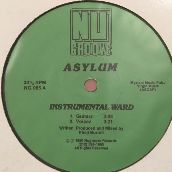 ☆Asylum/Instrumental Ward☆NY DEEP HOUSE!_画像1