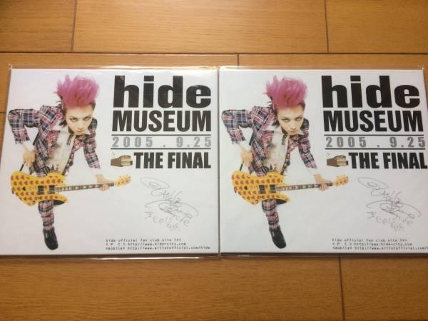 hide MUSEUM THE FINAL 記念切手 2005.9.25 メモリアル写真付き切手シート 特製ハードフォルダ付き
