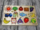 ボーネルンド BomeLundのピックアップパズル 木製 美