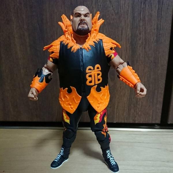バンバンビガロ WWE エリート マテル フィギュア 送料164円 グッズの画像