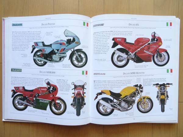 洋書◆バイクの歴史写真集 ホンダ ヤマハ スズキ カワサキ トライアンフ ハーレー BMW ドゥカティ_画像2