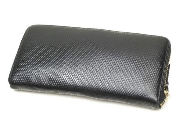 a5a5087d19da 代購代標第一品牌- 樂淘letao - COMME des GARCONS コムデギャルソン型押しラウンドジップロングウォレット長財布財布/mm5686