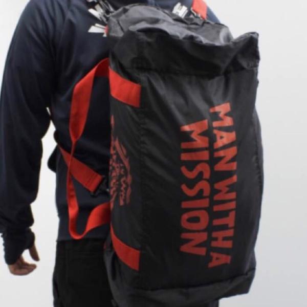送料無料 新品未開封 MAN WITH A MISSION 3way トラベルバッグ