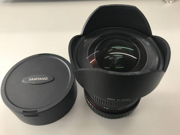 星撮りに最高!SAMYANG F2.8 14mm For CANON