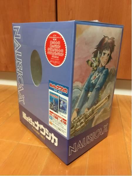 ジブリ 風の谷のナウシカ フィギュアセット DVD 未開封 グッズの画像