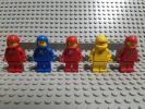 レゴ スペース 旧タイプ 宇宙飛行士 スペースフィグ ブル− レッド イエロー レゴブロック ミニフィグ LEGO
