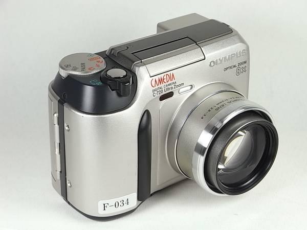 F-034 Camedia C-720z 300万画素 単3電池 動作保障 送料500円~