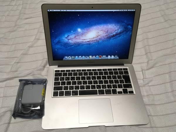 13インチ MacBook Air Mid 2011 A1369 CPU Intel Core i 5 1.7Ghz メモリ 4GB SSD 128GB OSX 10.7.5