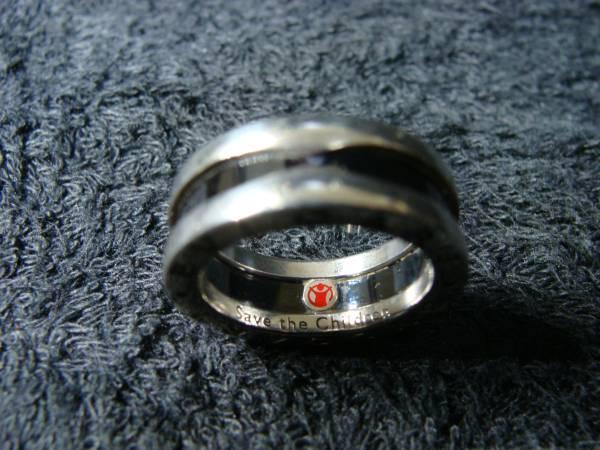 即決 BVLGARI ブルガリ ◆ セーブザチルドレン チャリティー B-zero1 ビーゼロ ワン リング 指輪 ◆ シルバー 925 セラミック_画像2