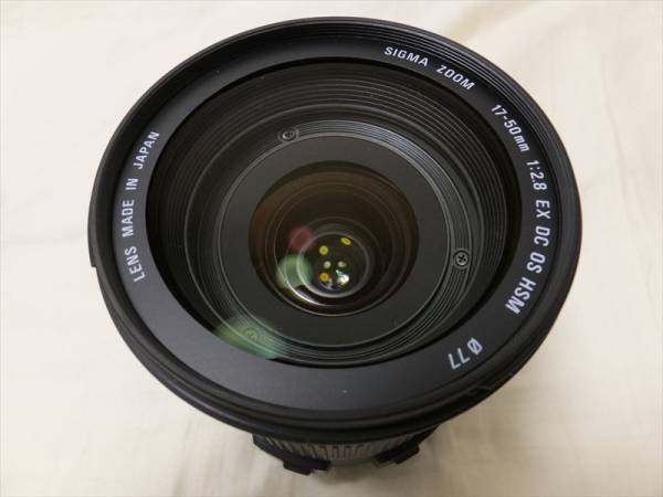 美品!! SIGMA 17-50mm F2.8 EX DC OS HSM ForCanon