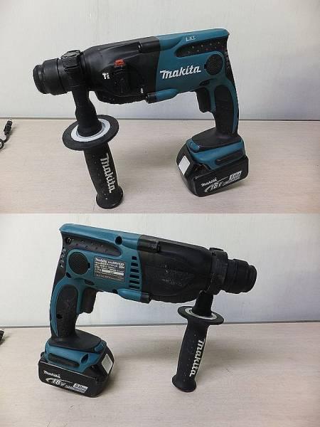 ■マキタ 16㎜ 充電式ハンマドリル HR163D 電池1個付■_画像2