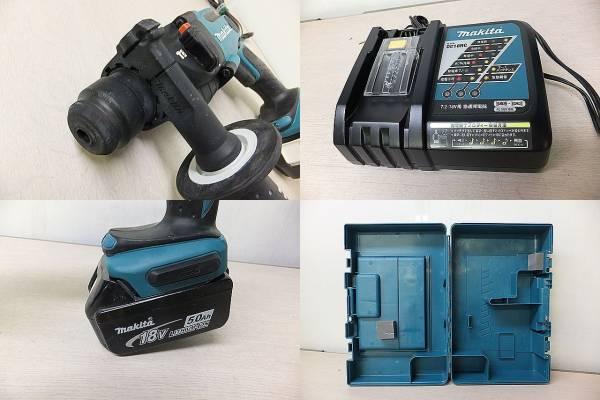 ■マキタ 16㎜ 充電式ハンマドリル HR163D 電池1個付■_画像3