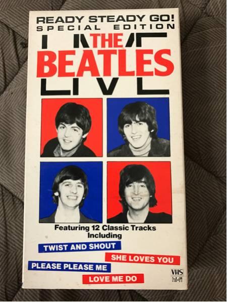 ビートルズ The Beatles LIVE VHS テープ ライブグッズの画像
