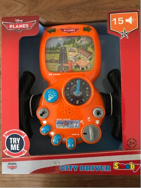 プレーンズ PLANES シティドライバー 運転 ハンドル 飛行機 電動おもちゃ 運転おもちゃ 乗り物おもちゃ カーズ 男の子 ディズニー ディズニーグッズの画像
