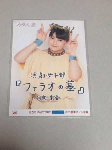 演劇女子部「ファラオの墓」コレクション生写真Part2羽賀朱音