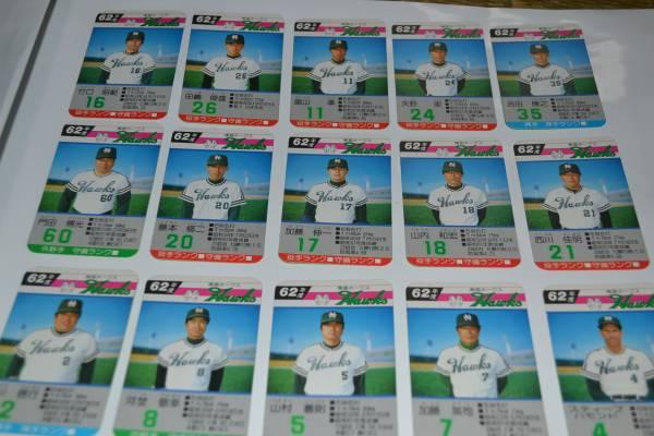 ★タカラプロ野球カードゲーム★昭和62年度南海ホークス30枚★ グッズの画像