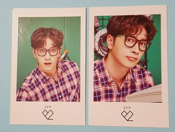2PM チャンソン ポラロイドフォトカード