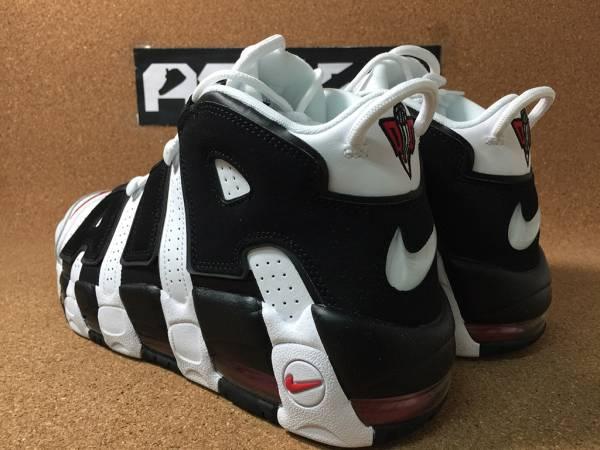 Nike Air More Uptempo White Black エアモアアップテンポ 414962-105 27.5cm_画像3