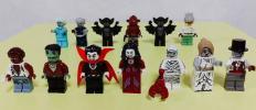 LEGO レゴ ミニフィグ ゾンビ フランケンシュタイン バンパイア 狼男 ミイラ男