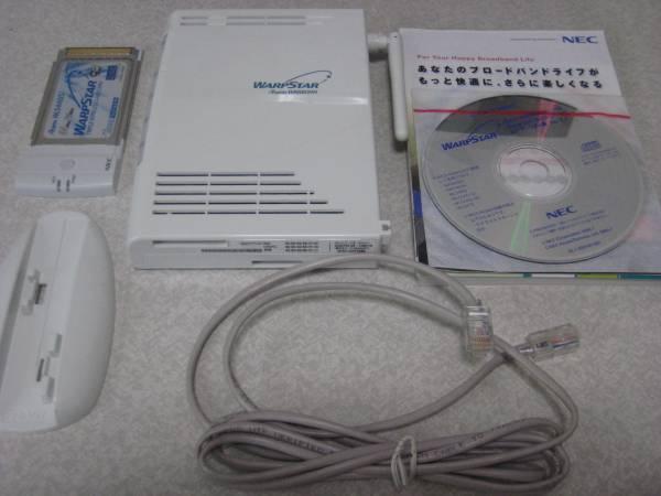 NEC WARPSTAR Aterm WR6600H 中古 ACアダプター欠品 ジャンク品_ACアダプターはありません