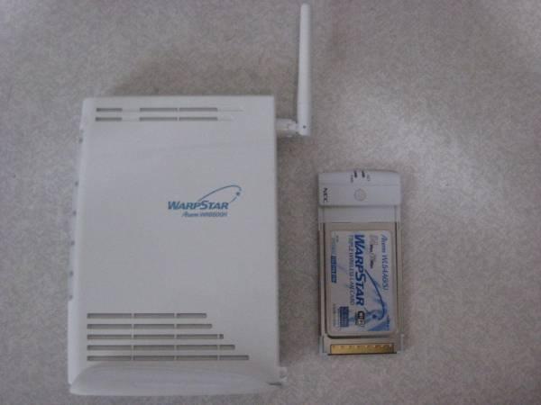 NEC WARPSTAR Aterm WR6600H 中古 ACアダプター欠品 ジャンク品_画像2